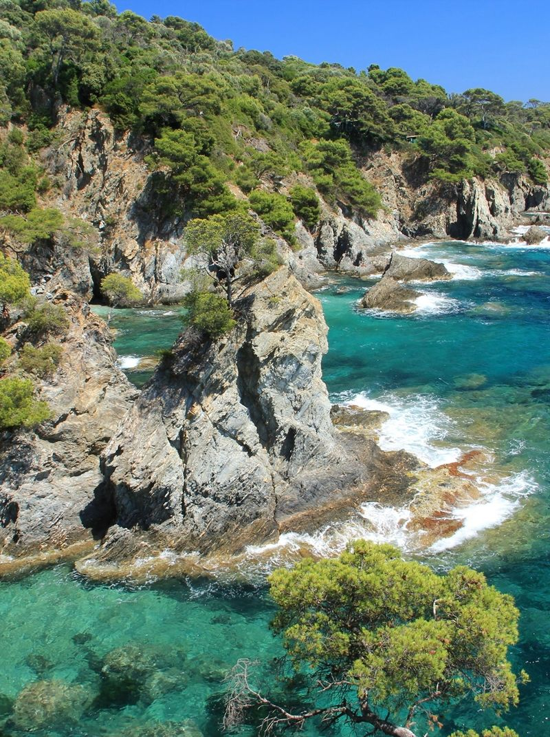 Provence Cote D Azur Zuid Frankrijk Hyeres South Of France Nature Seascape