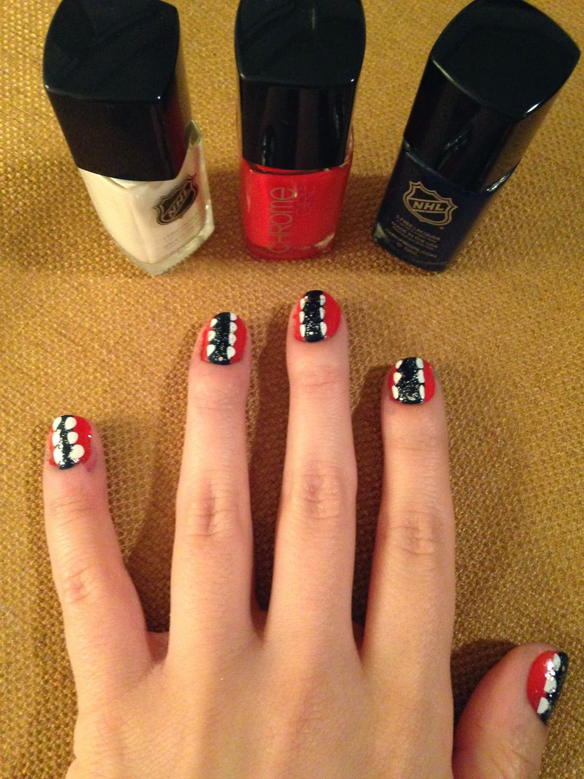 The Style Ref reviews Chrome Girl #NHL #NailPolish. #nails #nailart ...