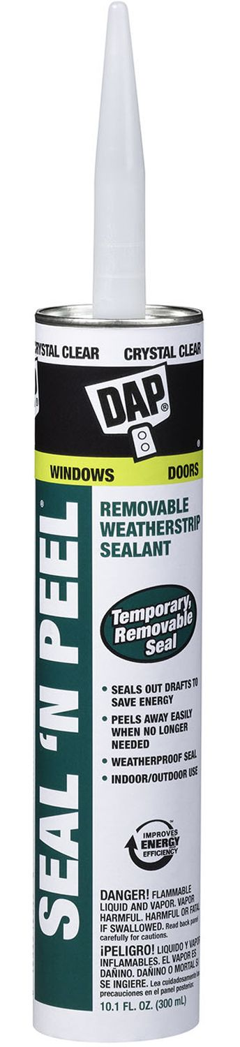 Seal N Peel Removable Weatherstrip Sealant Dap With Images Weatherproofing Weather Stripping Household Expenses