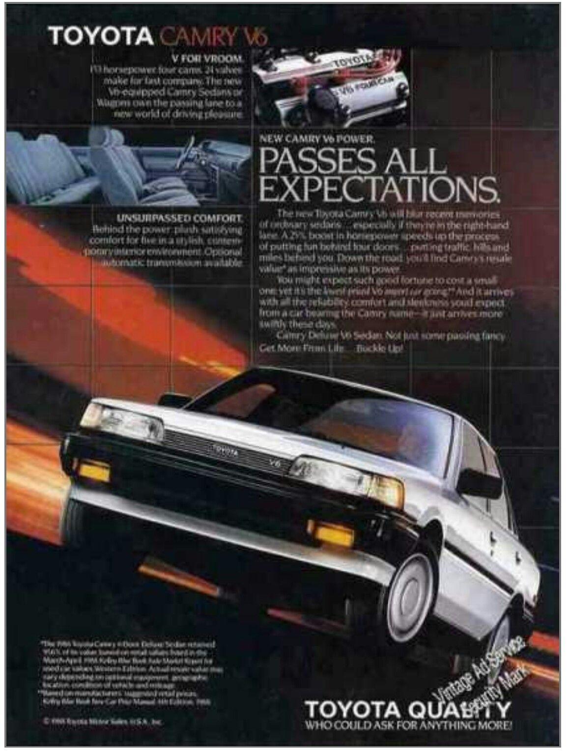 1988 Toyota Camry V6