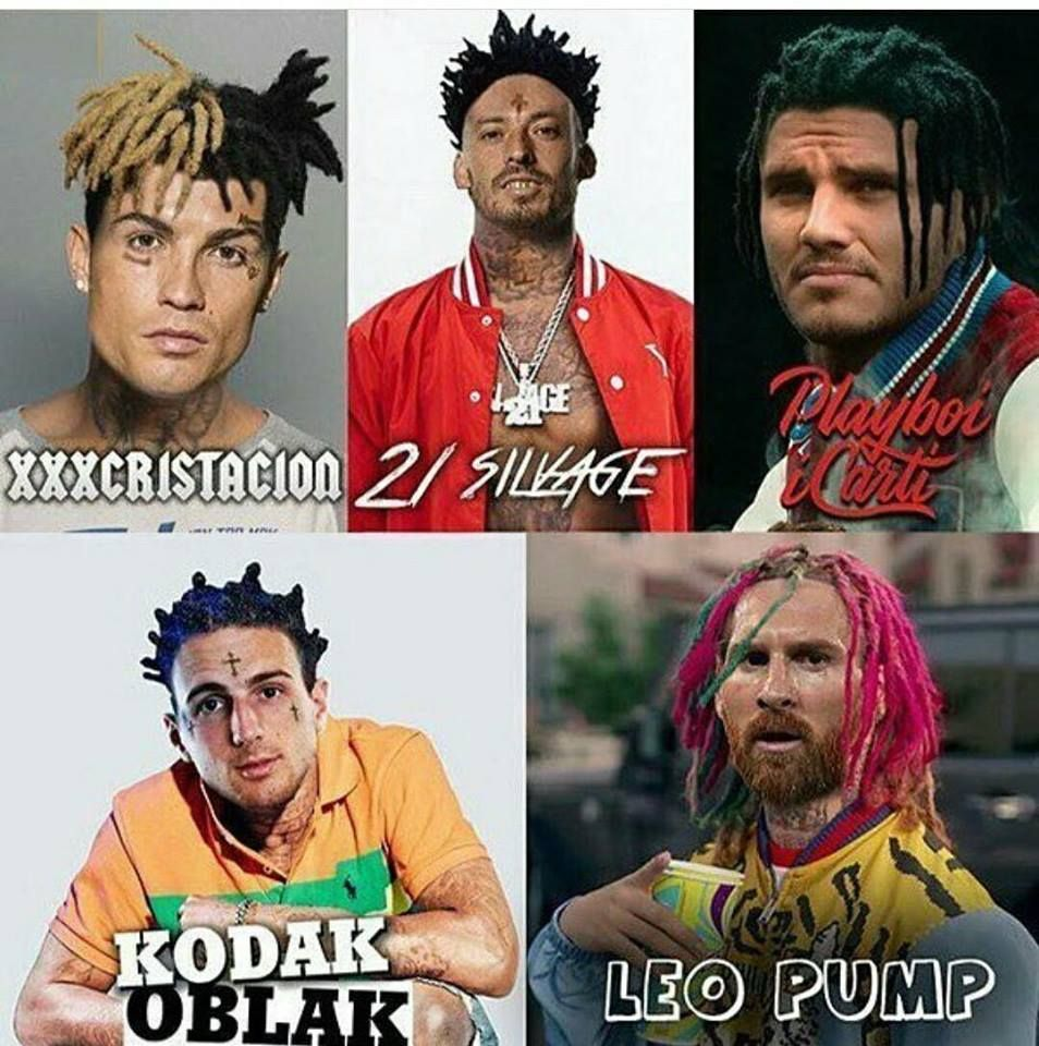 If Footballers Were Rappers Funny Football Memes Funny Soccer Memes Soccer Memes