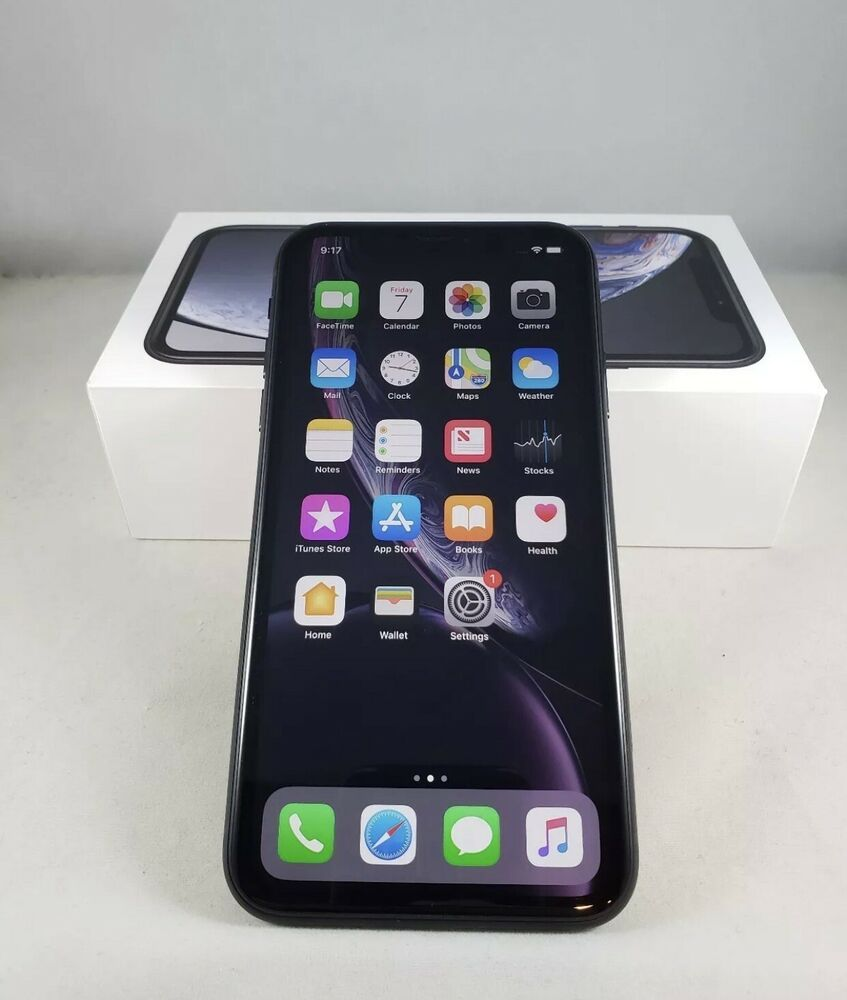 Apple iPhone XR 64GB Black (Unlocked) A1984 (GSM)