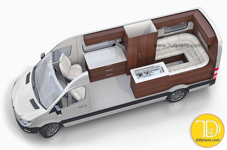 28 Rvs Caravans Motorhomes 3d Floor Plans Layouts Ideas Floor Plan Layout Motorhome Floor Plans