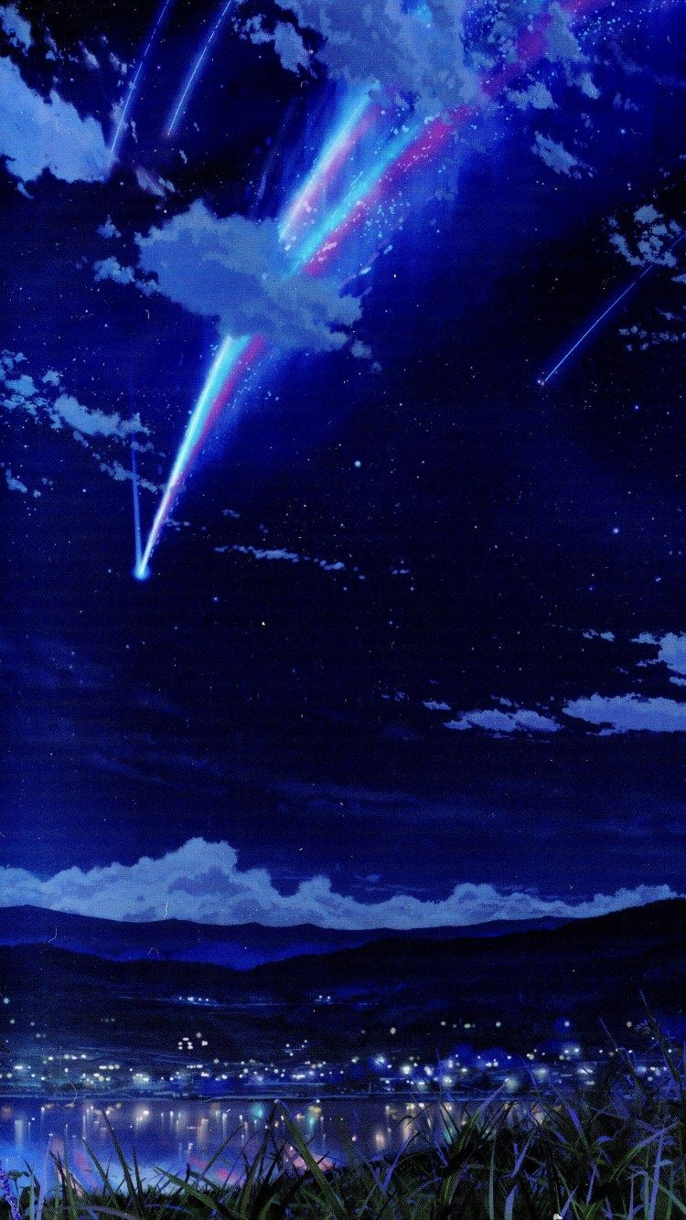 Your Name | anime wallpaper Iphone | Pinterest | Fondos, Fondos de pantalla y Pantalla