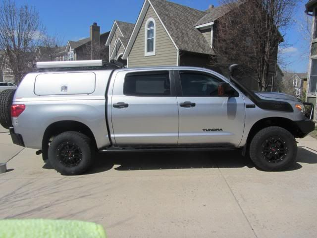 Tundra Build Thread Snugtop With Windoors Rack With