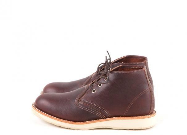 efbf50f3419 3141 Work Chukka Briar Oil Slick | Bambas | Brown chukka boots, Red ...