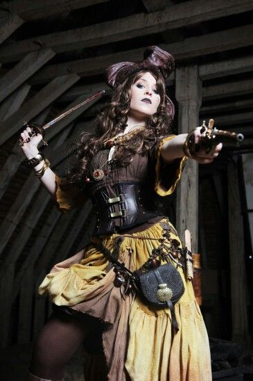 Steampunk Female Pirate | STEAMPUNK~FASHION | Pinterest ...