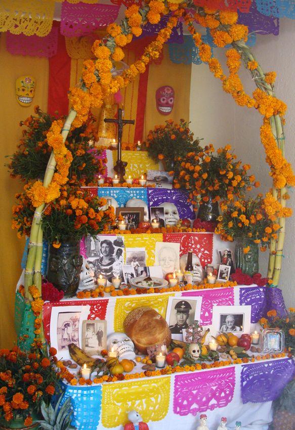 Altar De Muertos With Images Day Of The Dead Diy Dia De Los