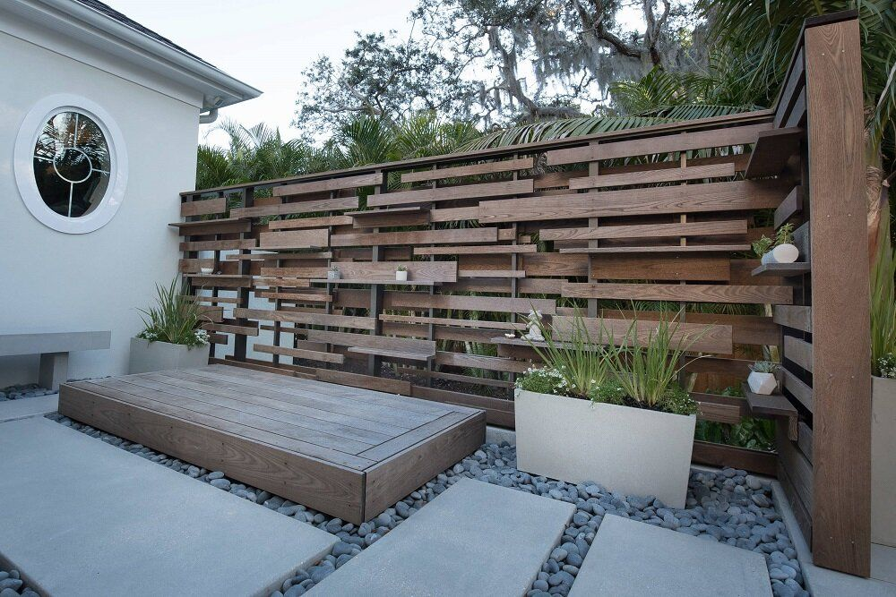 Outdoor privacy screen ideas you can use at your house ...