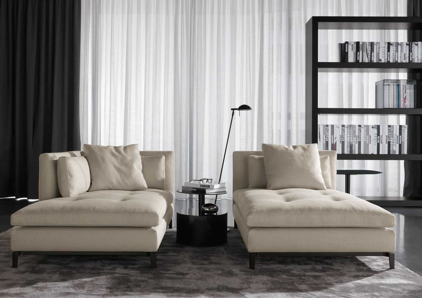 minotti ipad chaise longue tr en andersen living. Black Bedroom Furniture Sets. Home Design Ideas