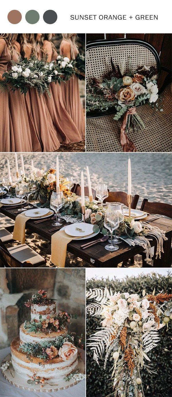 Photo of Colores de la boda de otoño 2019: las 10 mejores combinaciones de colores que te encantarán