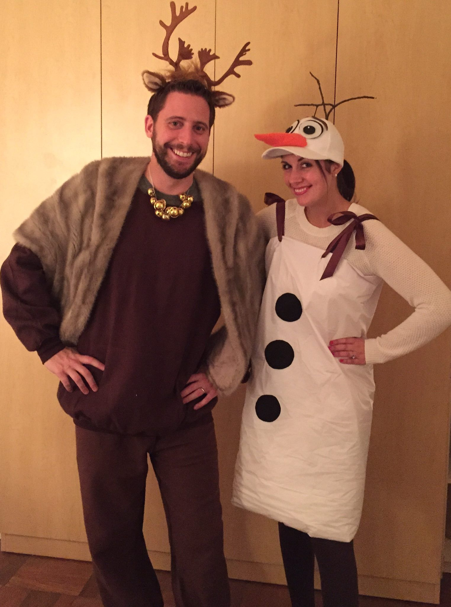 55 genius couples costumes for halloween 2017 olaf costumes sven and olaf more halloween costume for couplescouple costumesadult costumeshalloween 2016diy solutioingenieria Image collections