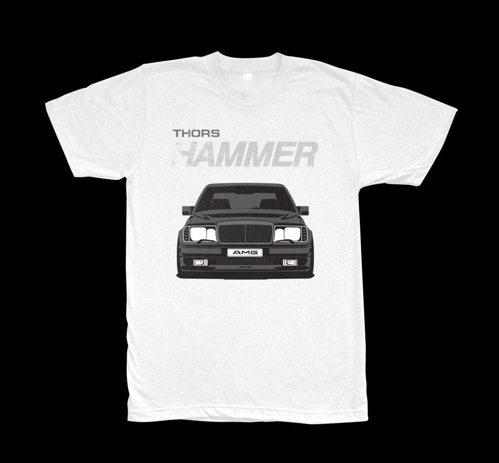 W124 Amg Hammer T Shirt Automotive Enthusiast Apparel Pinterest