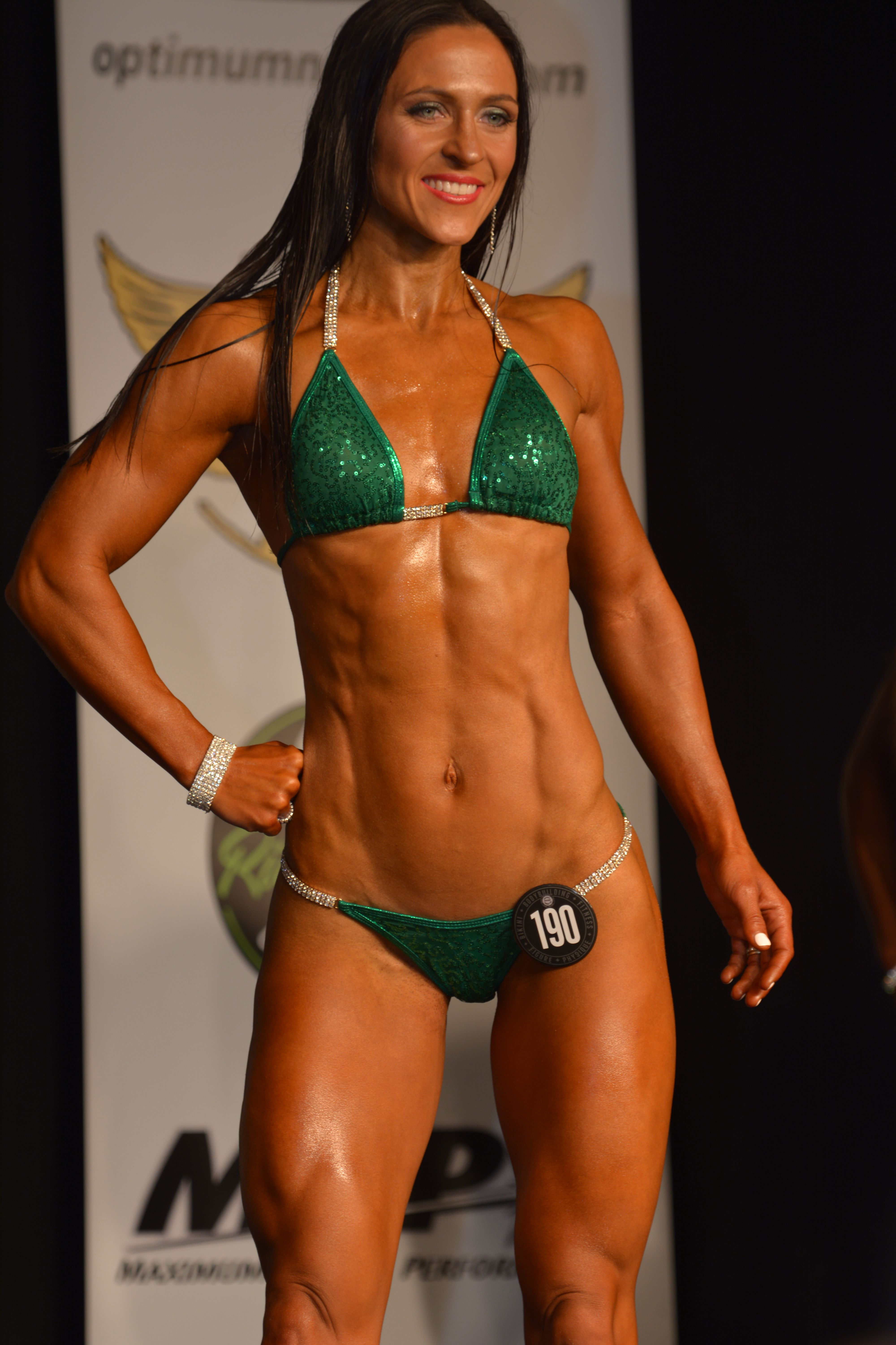 b42401313d07f fitness competitor - NPC Bikini Bodybuilding Competition Prep by popular  New Jersey fitness blogger Fit Mommy in Heels
