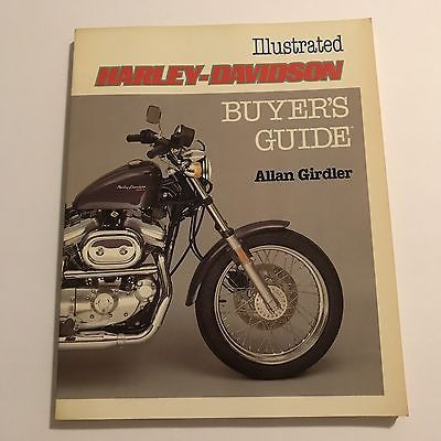 Harley-Davidson Illustrated buyers guide published 1986  | eBay