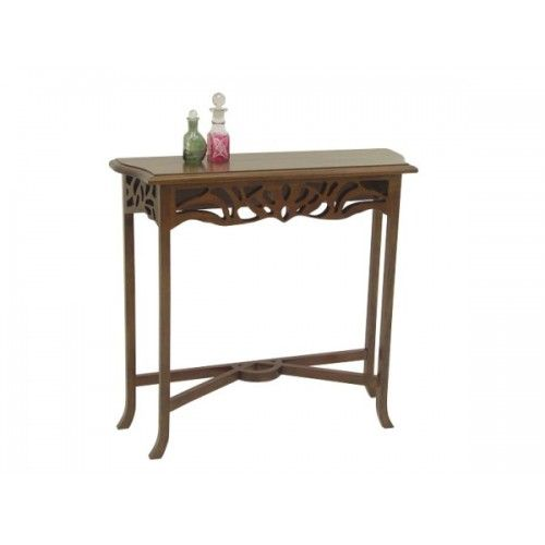 Beautiful Mini Console Table Hand Made From Rubber Wood In Thailand And Part Of Our Accent