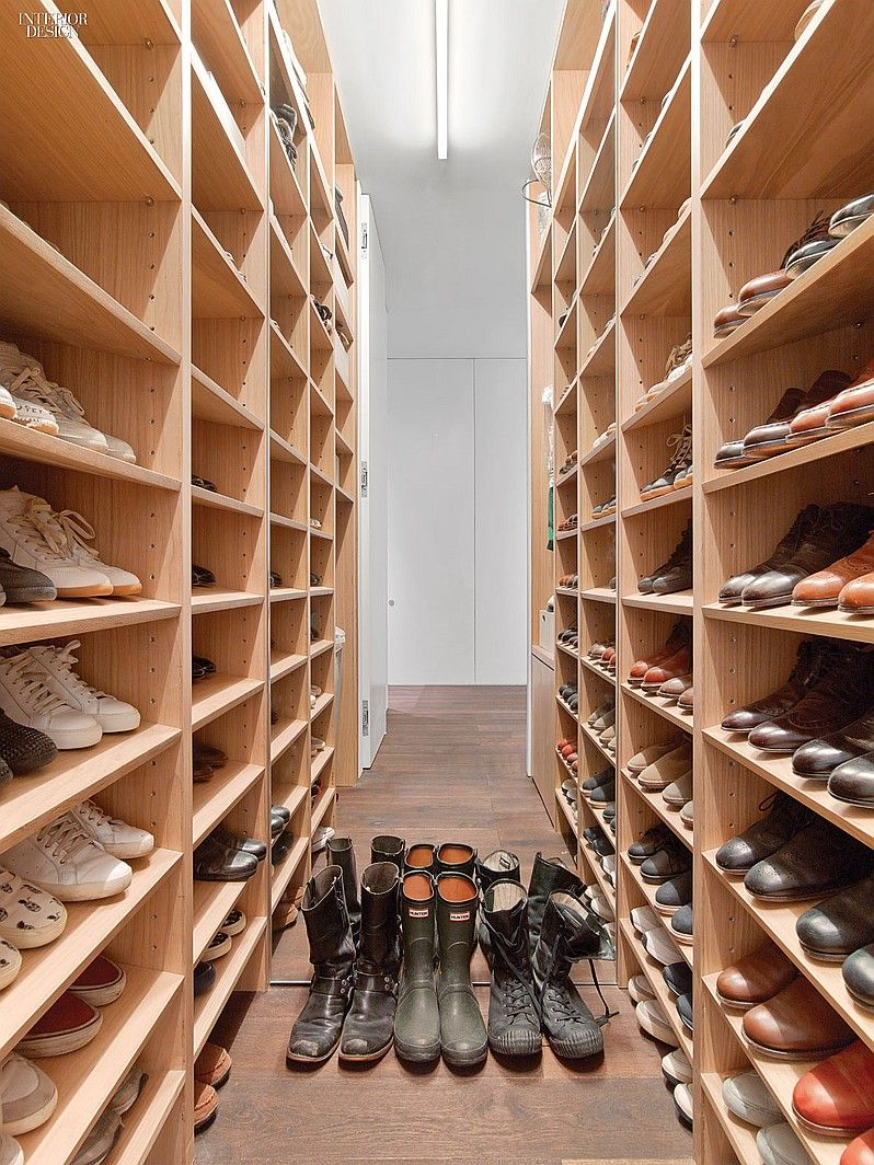 Delicieux Messana Ou0027Rorke Designs Factory Loft For Young Clients | The Walk In Closet  Holds 200 Pairs Of Shoes. #design #interiordesign #interiordesignmagazine  ...
