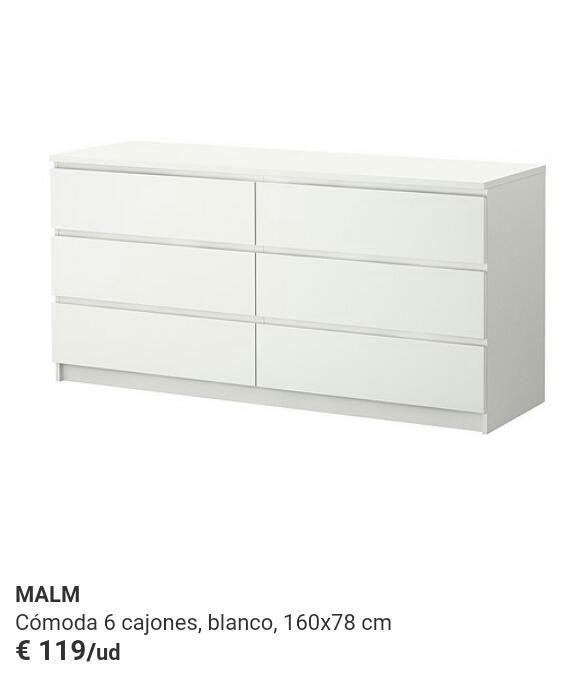 Cmoda malm 6 cajones good bathroom cabinet tim will mod - Comoda hemnes 6 cajones ...