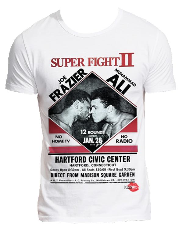 6d3a2020302d Joe Frazier, Muhammad Ali Boxing super fight T-Shirt £24 from Kiss Clothing