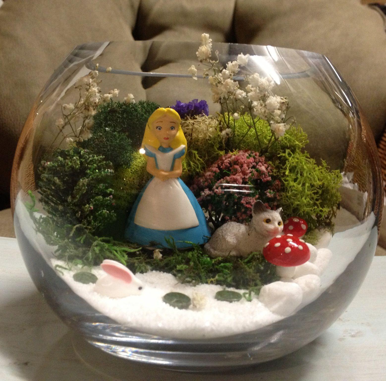 Alice in wonderland alice in wonderland wonderland alice in wonderland alice for Alice in wonderland fairy garden