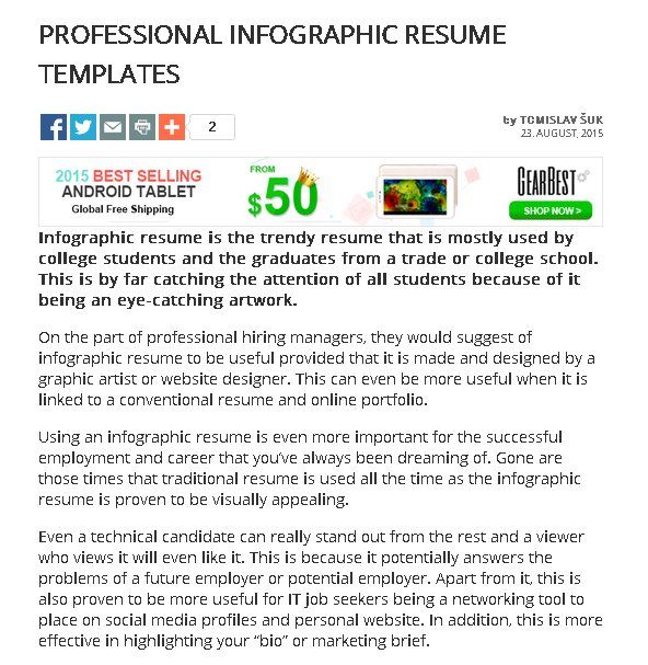 Professional Infographic Resume Templates Infographic Resume Infographic Resume Template Resume Tips