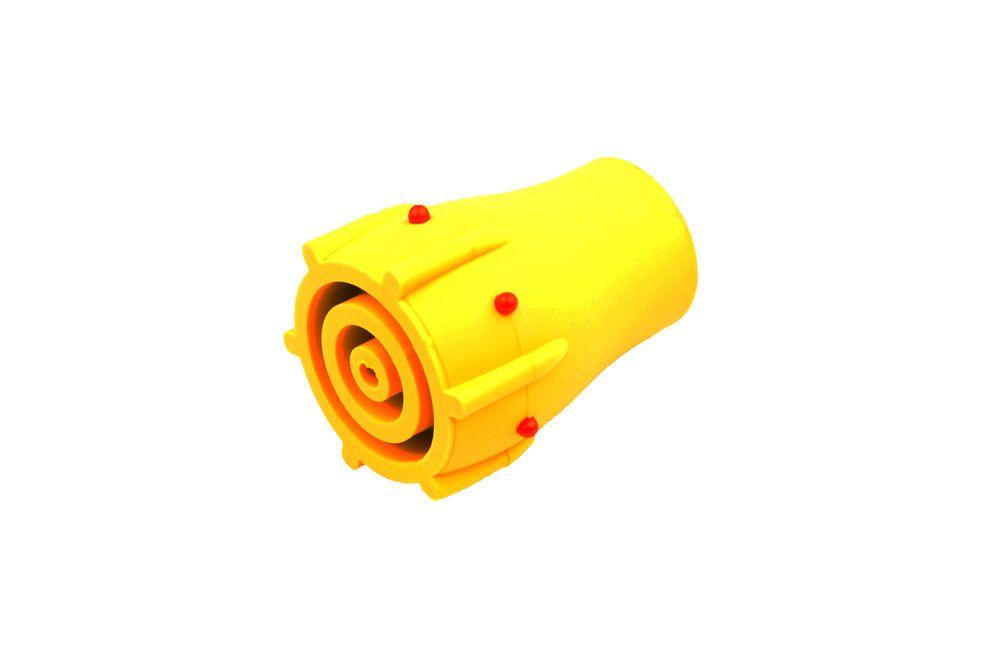 "3x Green 22mm 7//8"" Walking Stick Cane Crutch Zimmer Ferrule Wear Indicator L0021"