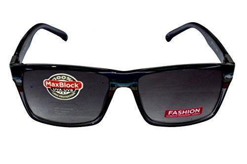 Foster Grant FG43 Unisex Way Shape Sunglasses Shaded Blue