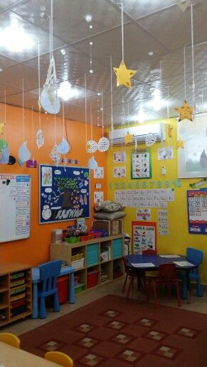Classroom Decor Stars : Weather theme snowflakes raindrops and shape star