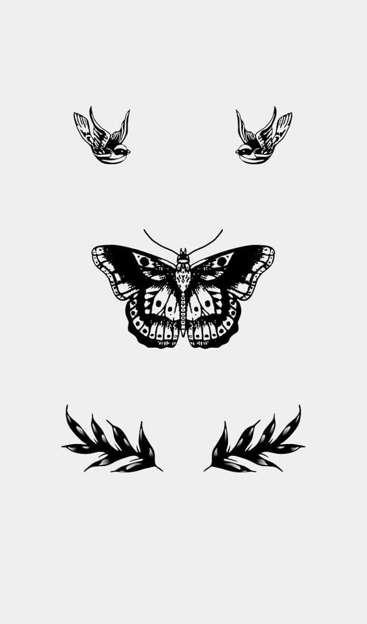 Harry Styles Butterfly Tattoo Transparent | www.galleryhip.com - The ...