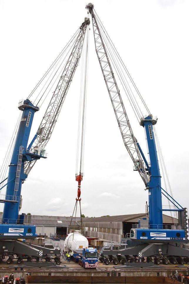 Liebherr Two Lhm 600 Mobile Harbour Cranes Liebherr
