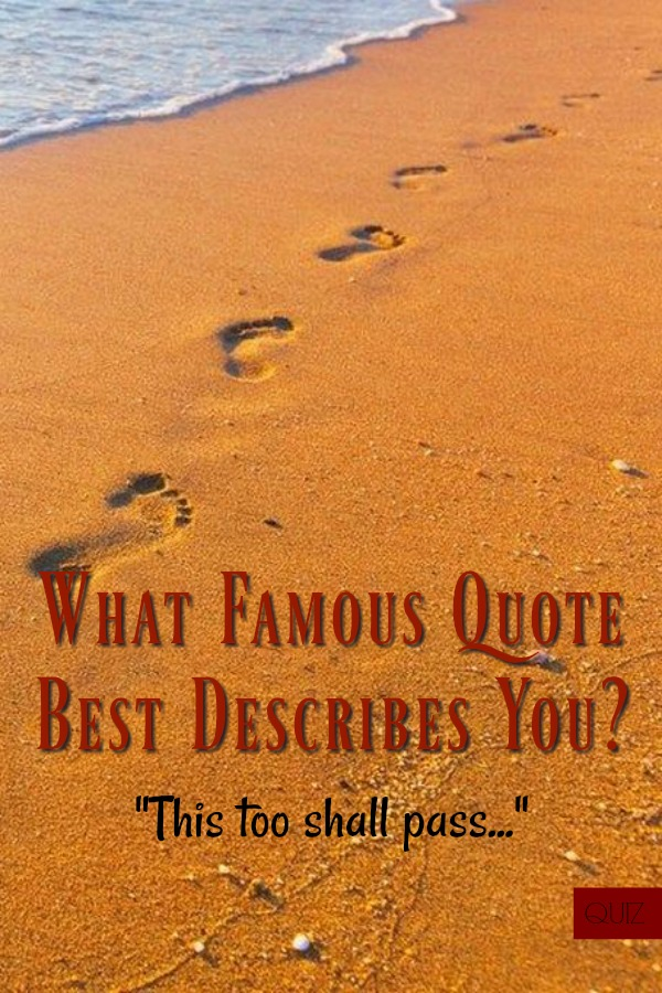 What Famous Quote Best Describes You Vision Board Pinterest