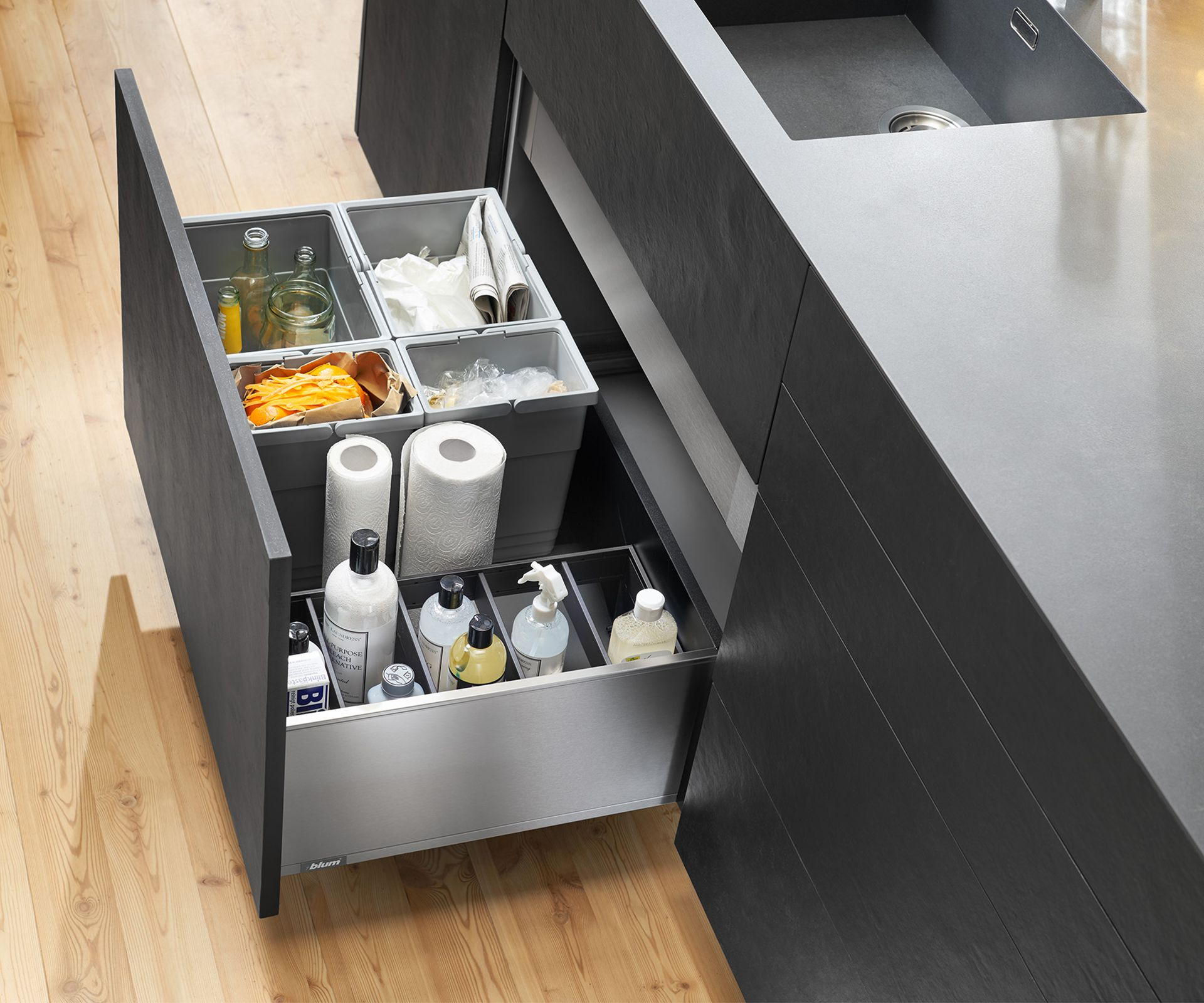 5 essential kitchen zones to help you organise your home fitted cabinets sink cabinet on organizing kitchen cabinets zones id=18655