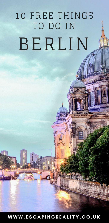 10 Free Things to Do in Berlin #bestkaraokemachine