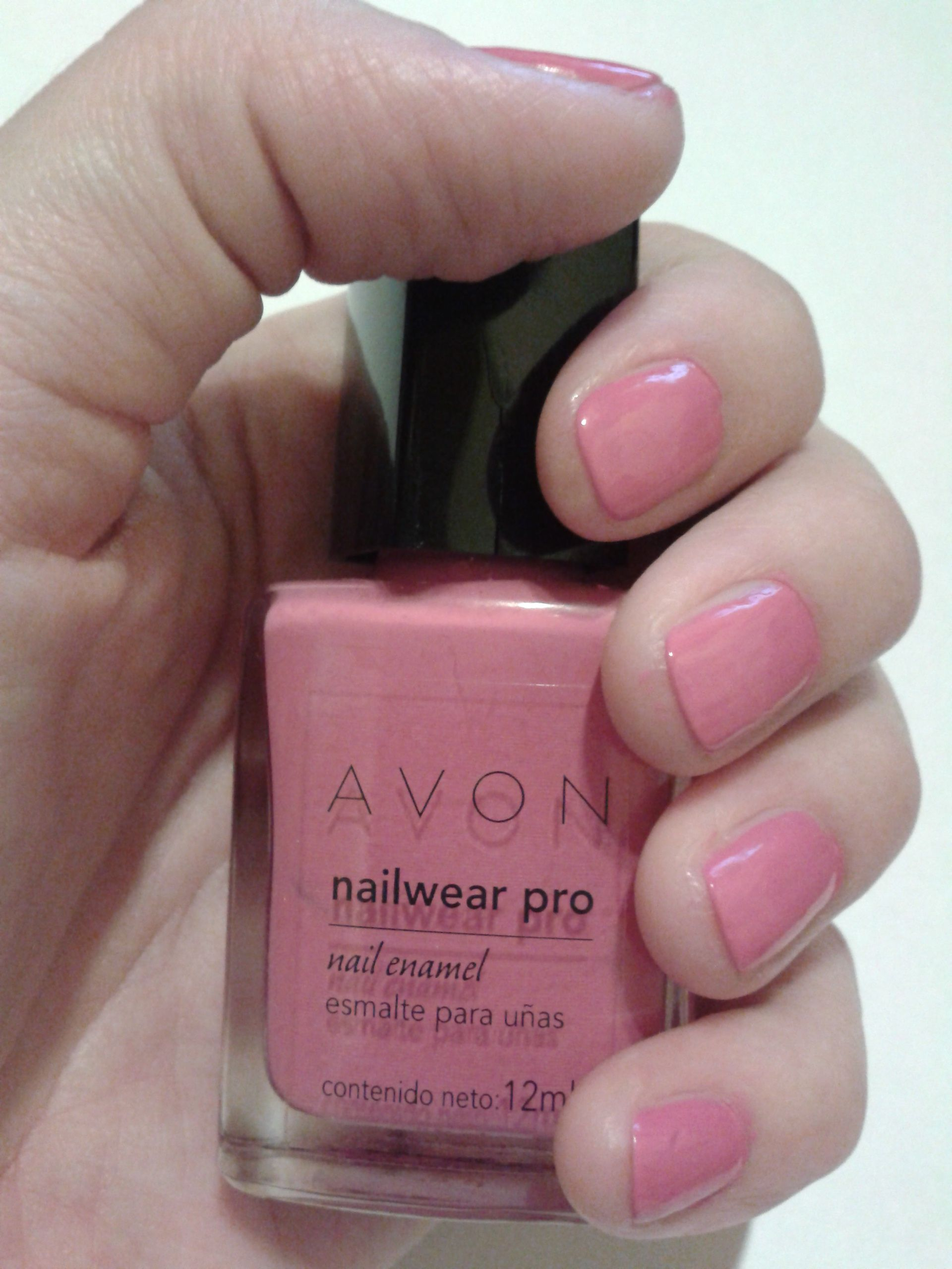 Avon Nailwear Pro Viva Pink #Nailart   Nail Art   Pinterest
