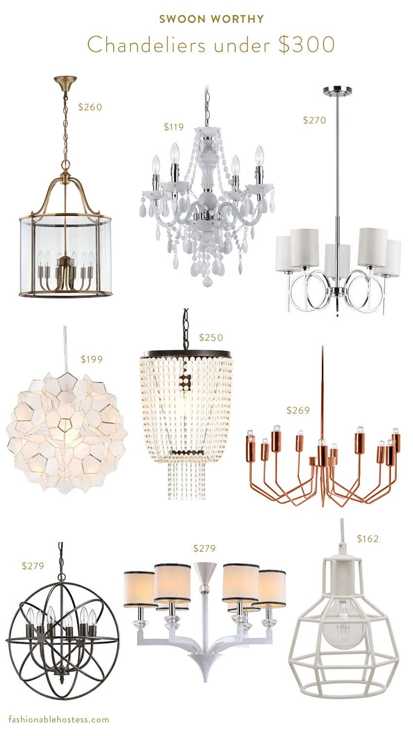 Chandeliers Under 300 For The Budget Conscious Decorators On