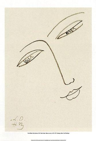 Volto di donna, Matisse