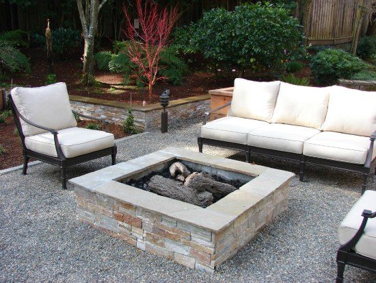 find this pin and more on backyard designs what about a gravel patio area with a fire pit - Patio Ideas With Fire Pit On A Budget