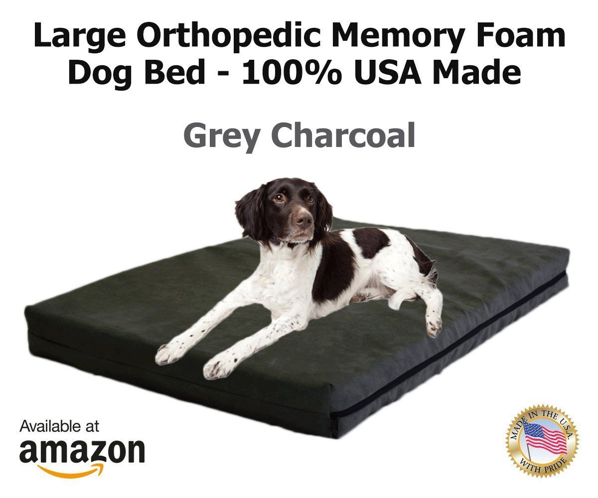 XXL Extra Large Dog Beds Orthopedic Memory Foam and GEL