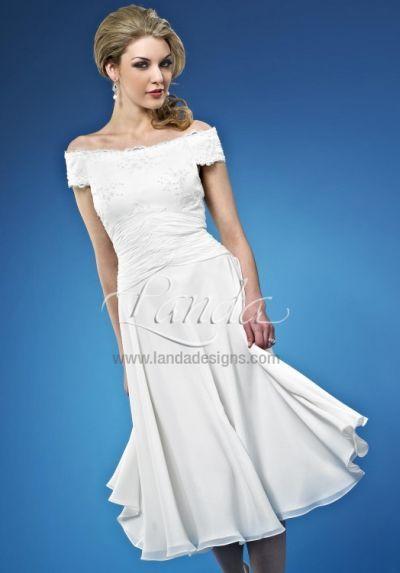 Informal Wedding Short Destination Bridal Dress DB216 by Landa ...