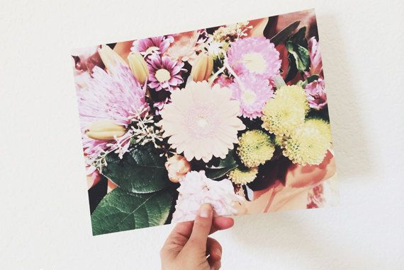 Bouquet. 8x10. Fine Art Photographic Natural by MilesOfLight, $30.00