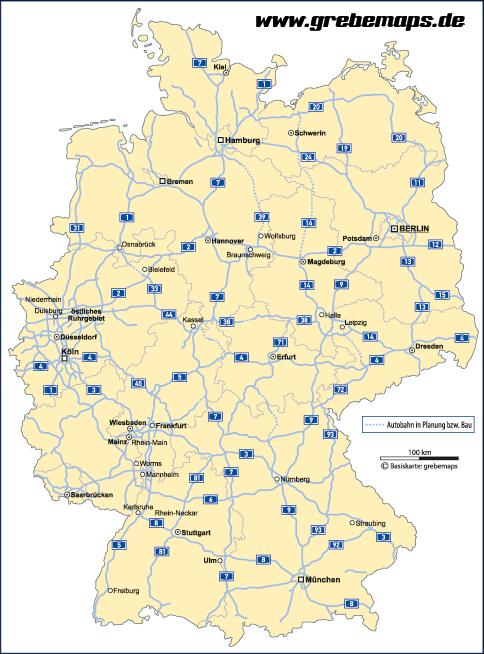 bab deutschland karte Pin auf Karte