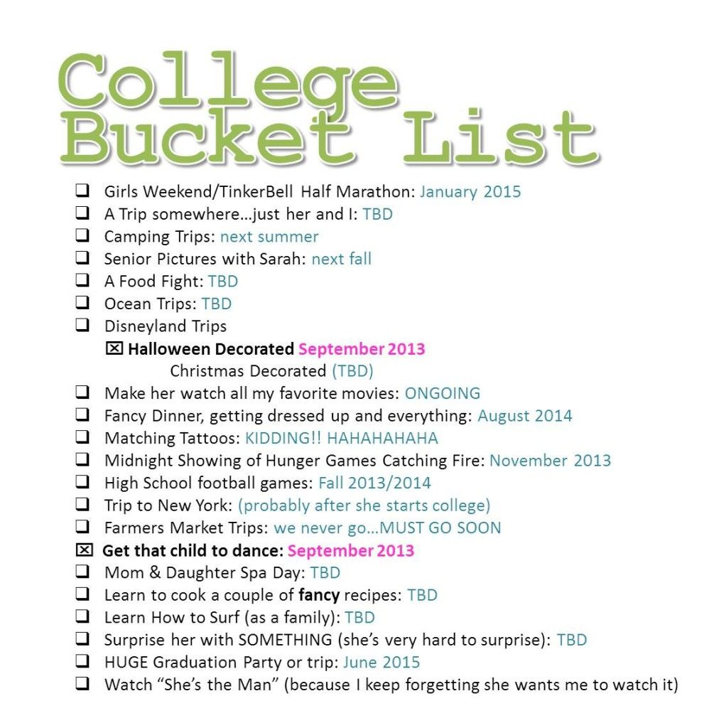 Bildergebnis Fur Crazy Teenage Bucket List Ideas Henry Holland