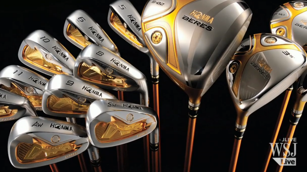 The world's most expensive golf clubs? Golf clubs, Golf
