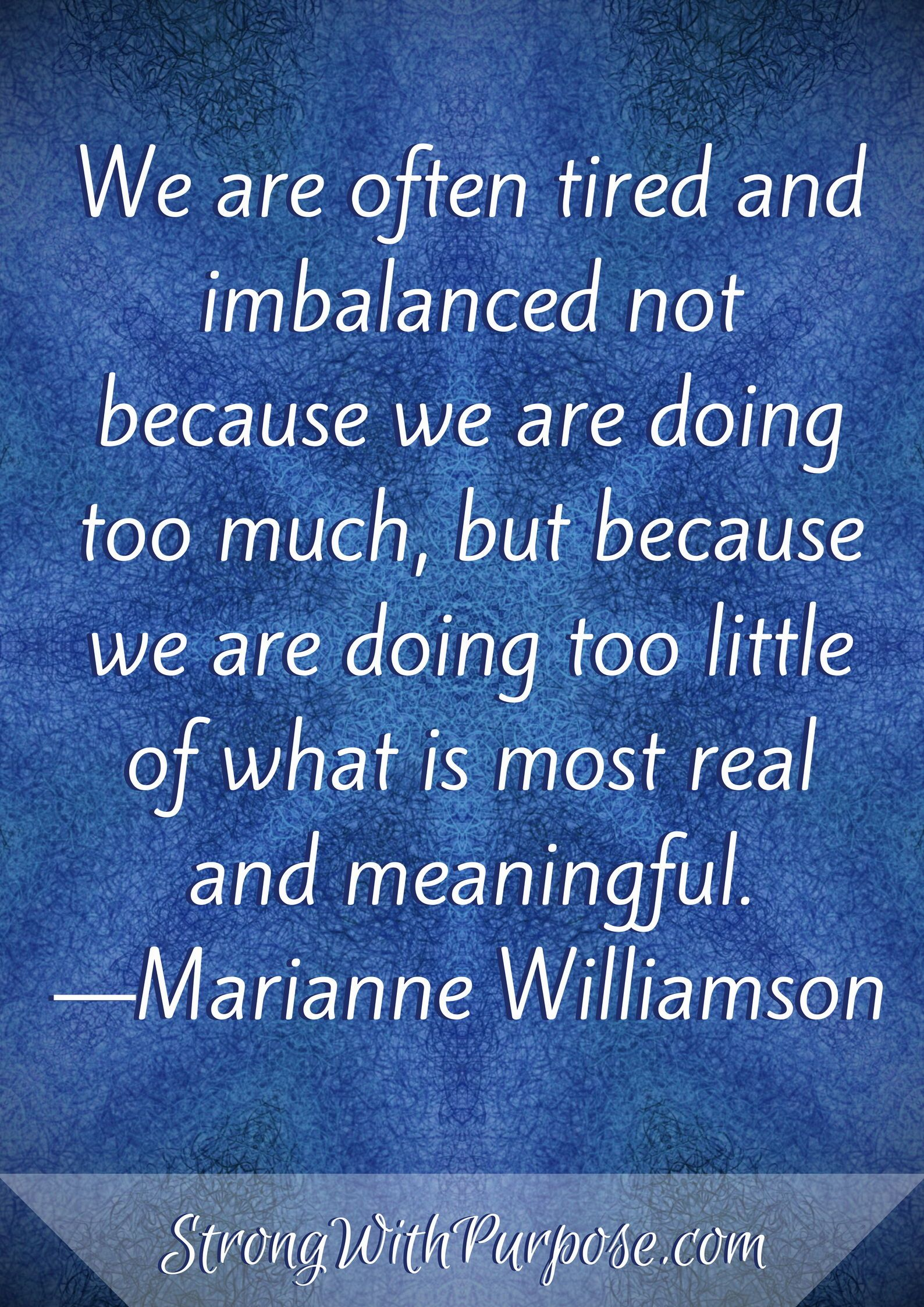 Printable Mindset Quotes Strong With Purpose Healing Intuitive Living Empathy Quotes Mindset Quotes Marianne Williamson Quote
