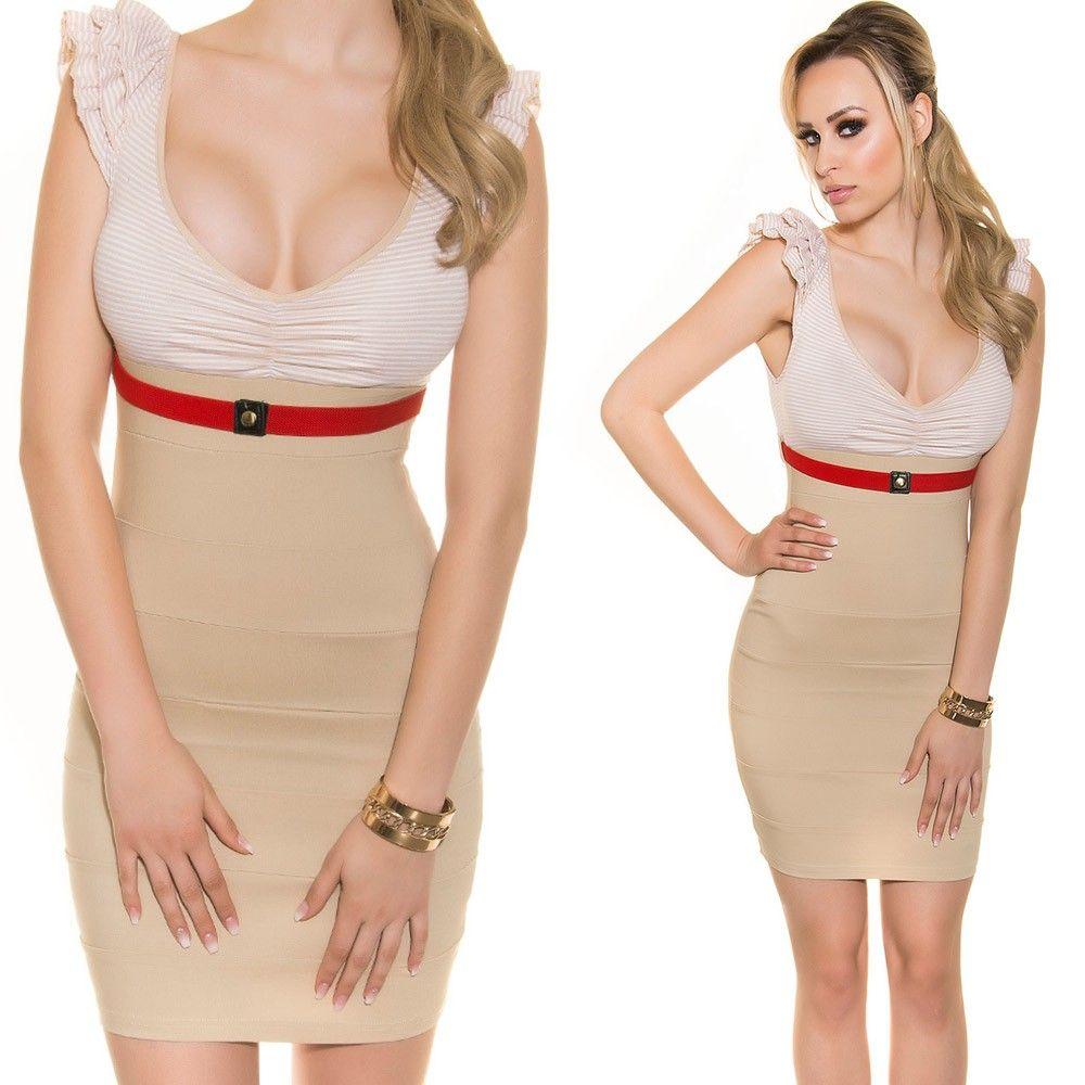 8a78c093b3 Csinos V kivágású csíkos ruha | Női ruha | Dresses, Skirts és ...
