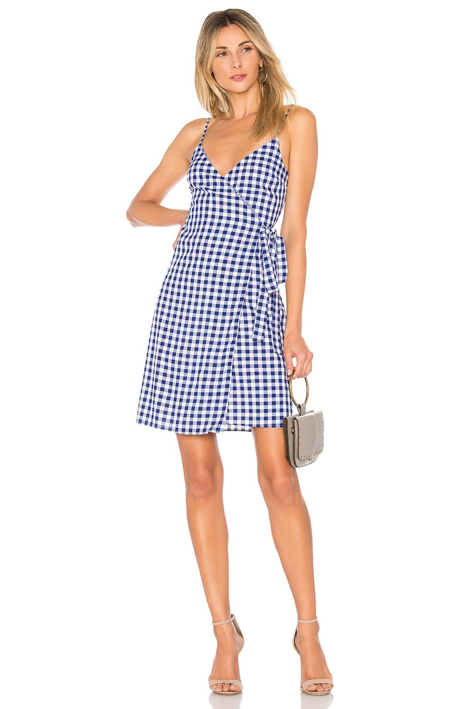 c06e3e31d871 L'Academie The Martin Dress in Blue Gingham | REVOLVE | Fashion ...