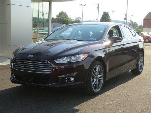 New 2013 Ford Fusion Titanium Maroon Car Charleston Car Ford