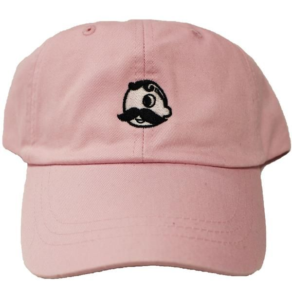 5234f7a0eab7e Think pink with this Natty Boh logo baseball cap--the perfect way to keep  the sun off while you make a Baltimore-bold fashion statement!