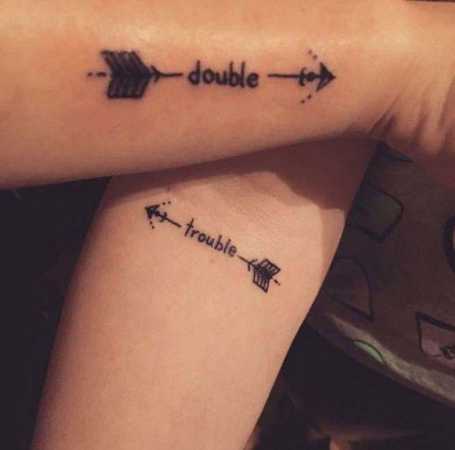best friend tattoos (2) | Tattoos | Pinterest | Friend tattoos ...