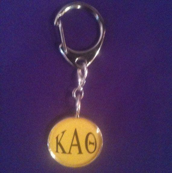 Kappa Alpha Keyclip by AnnPedenJewelry on Etsy, $9.99